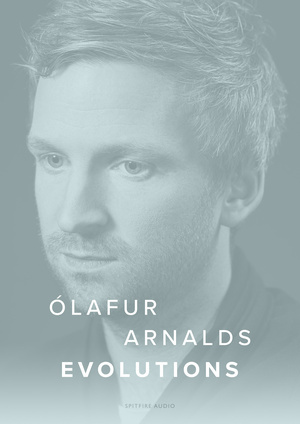 Olafur Arnalds Evolutions artwork