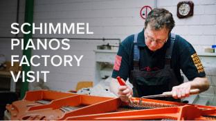 Schimmel Pianos Factory Tour