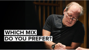 Comparing Mixes in Hans Zimmer Percussion Professional