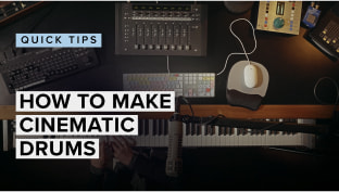 How To Make Cinematic Drums