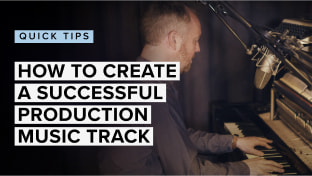 How To Create A Successful Production Music Track