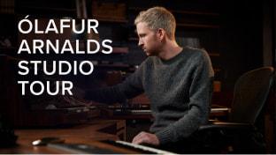Ólafur Arnalds Studio Tour