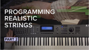 How To Program Realistic Sounding Strings Pt 2