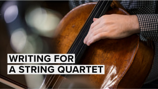 Writing For A String Quartet (with Sacconi Strings Quartet)