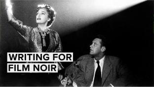 'Film Noir' Inspired Composition