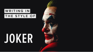 Writing In The Style Of 'Joker'