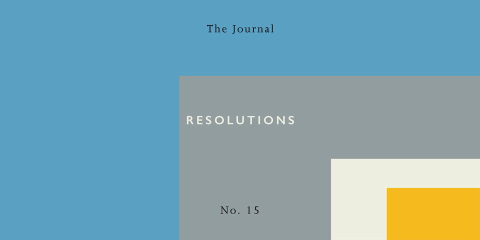 #015 January 2017 Resolutions