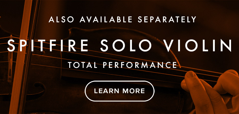 Spitfire Solo Violin.