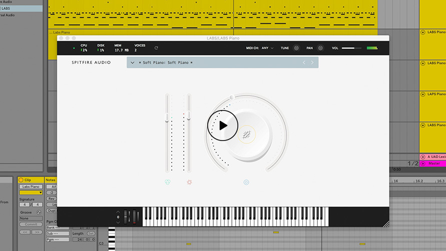 LABS Soft Piano