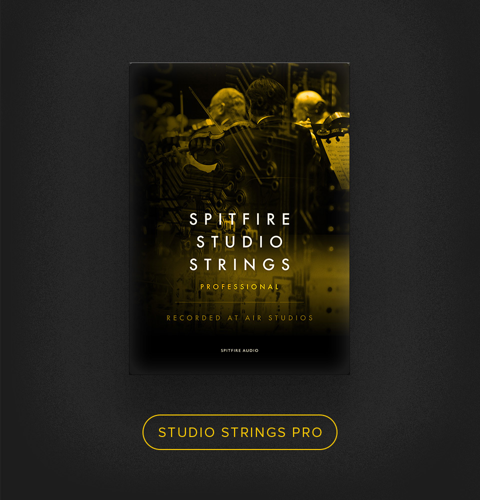 Spitfire Studio Strings.