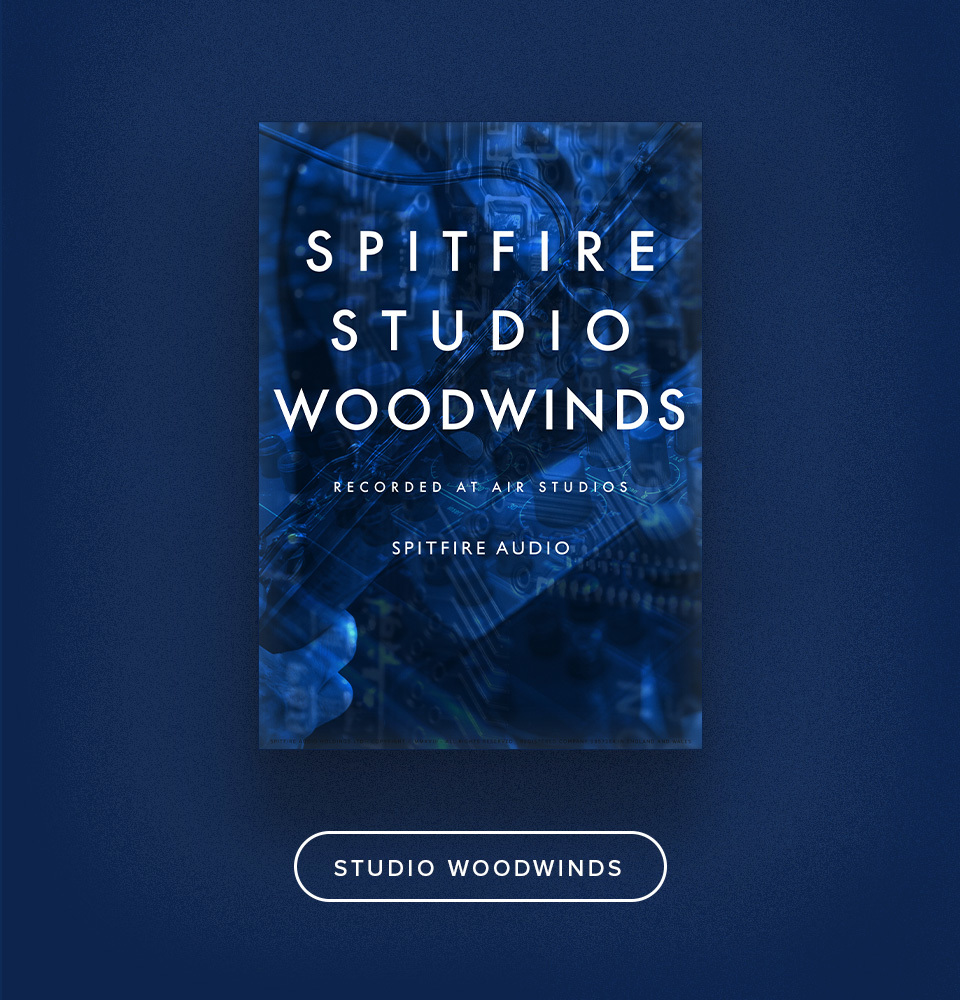 Spitfire Studio Woodwinds.