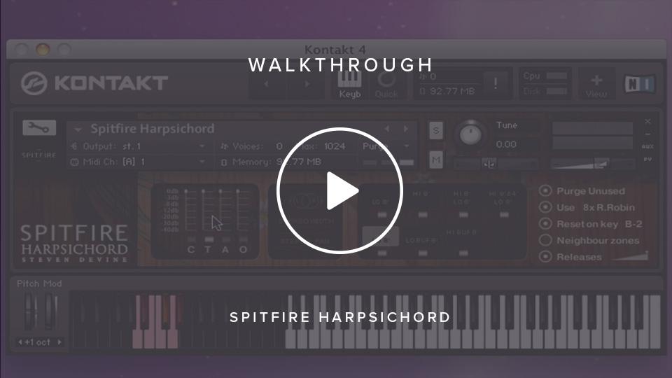 Spitfire Harpsichord