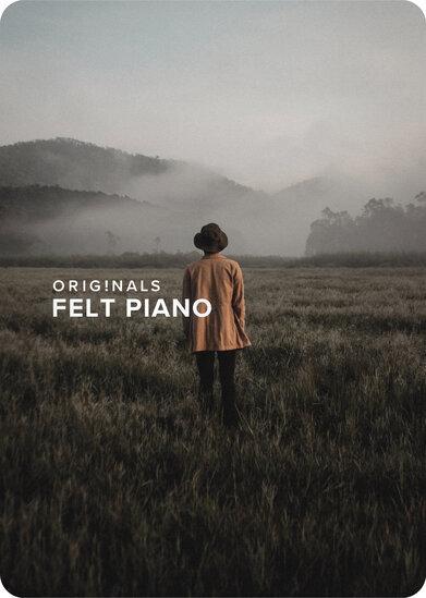 Originals Felt Piano